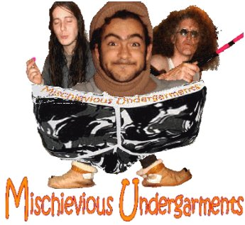 Mischievious Undergarments_ The Band from Fowey Cornwall UK, AKA Mischeivous Undergarments AKA  Mischievous Undergarments AKA  Mischievous Underpants AKA Mischievious Underpants