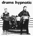 Sam playing snare drum & percussion with the Fallout Marching Band 1985 ish